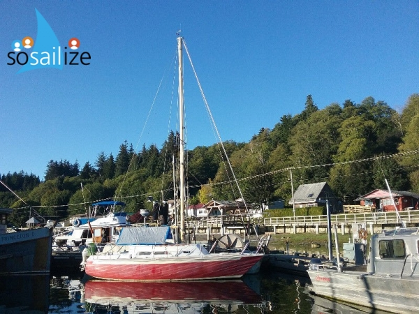 Great sailboat for sale |  Alert Bay, BC