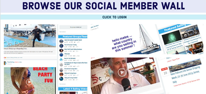 browse our social member wall banner