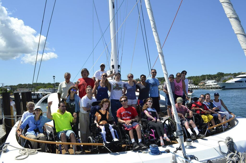 Catamaran Gives Those With Disabilities a Chance to Sail [ Video ]  - soSAILize.net