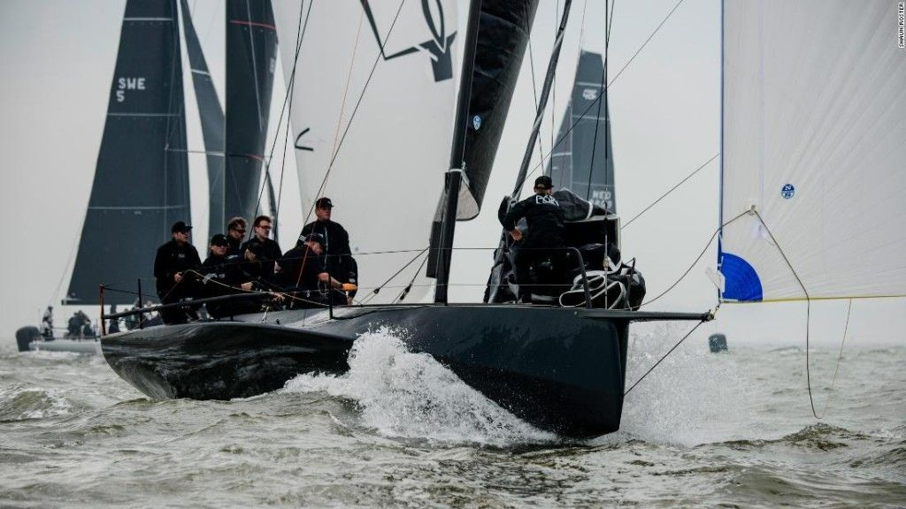 electric racing yacht