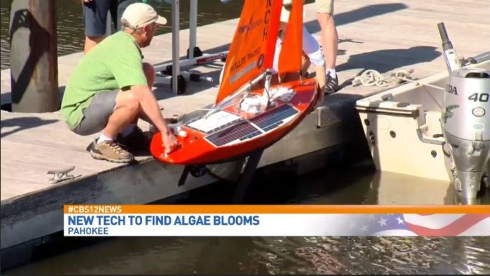 Self-Driving Sailboat Will Monitor Algal Blooms In Lake Okeechobee