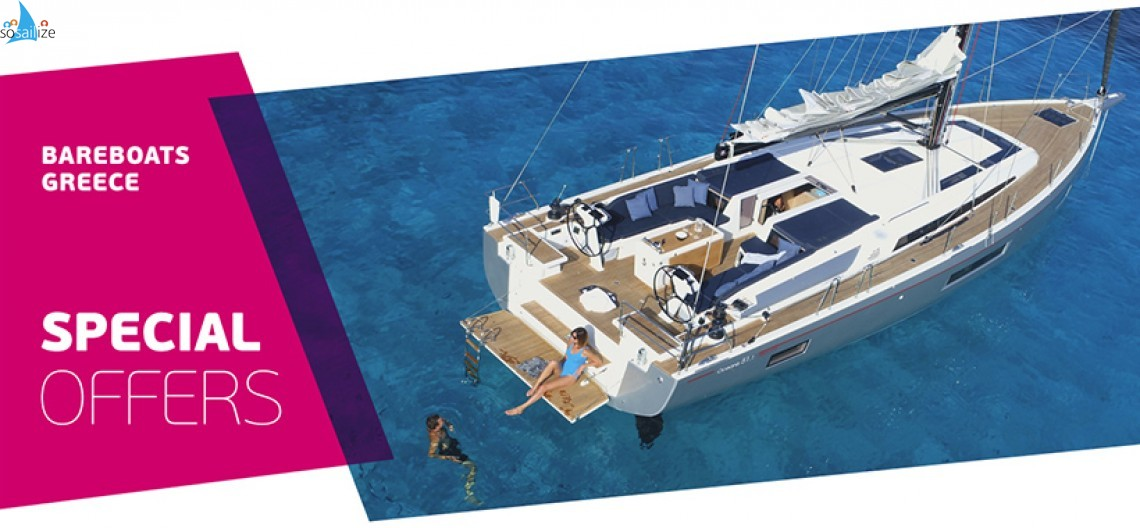 Special Offers for Bareboat Yacht Charters 2021 Greece