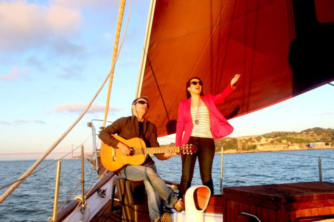 Fado live concert on a sailboat