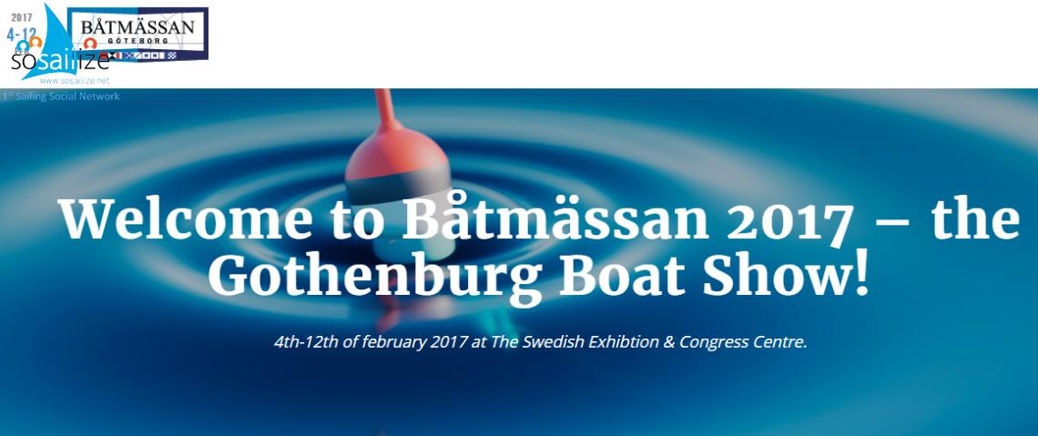 Göteborg Boat Show 2017 Feb 4-12, Gothenburg, Sweden