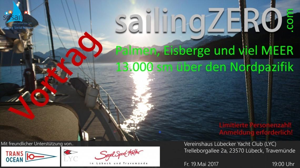 Vortrag: Palmen, Eisberg und viel MEER - 13.000 sm über den Nordpazifik