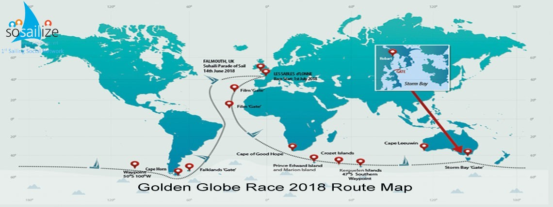 Golden Globe Race 2018 Jul 1st, Les Sables d'Olonne, France