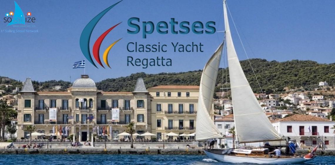 Spetses Classic Yacht Regatta 2018 Jun 14-17, Greece