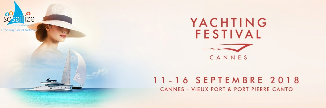 Cannes Yachting Festival 2018 Sep 11-16, France
