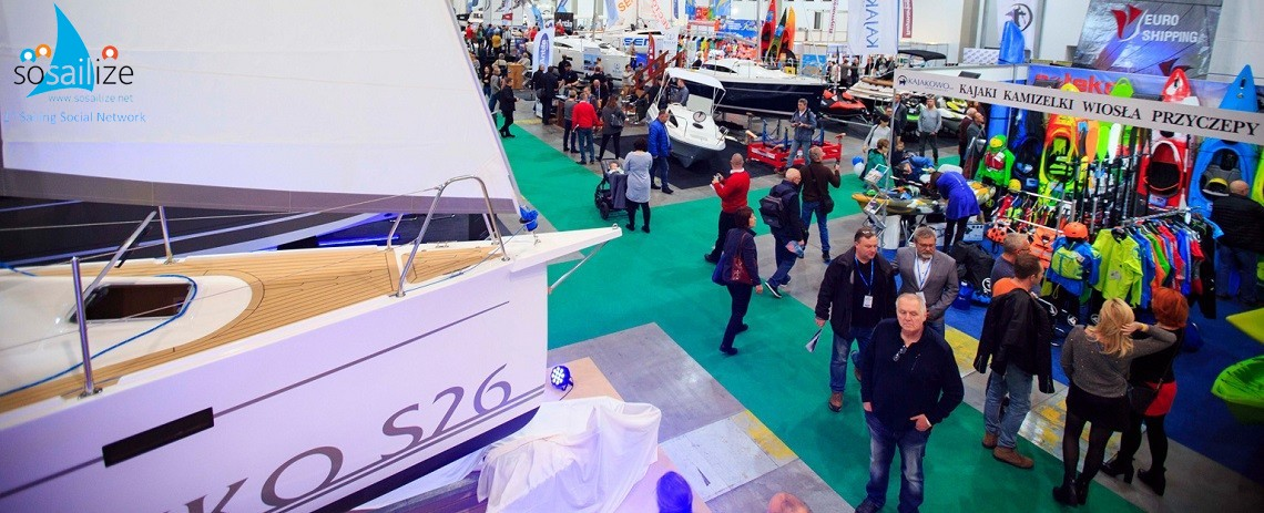 20th Sailing and Water Sports Trade Fair, 2018 Nov 9-11, Lodz, Poland
