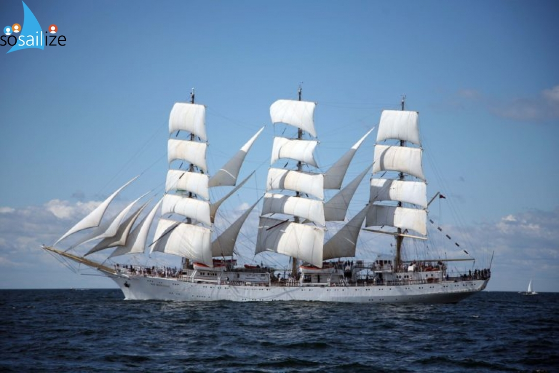 A chance to go on board a tall sailing ship