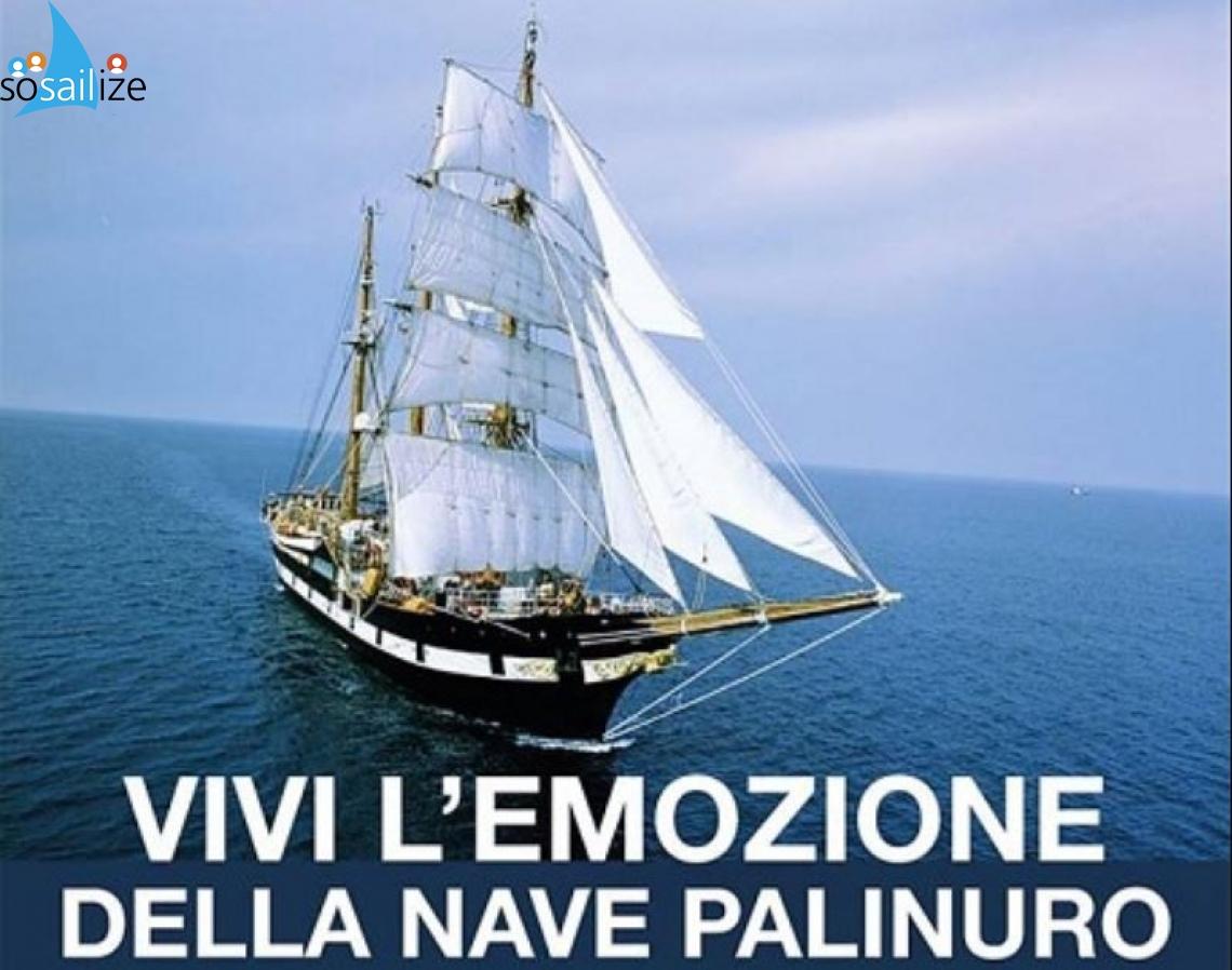 Palinuro training ship returns to Cilento, 2019 Jun 10-12, Cilento, Italy