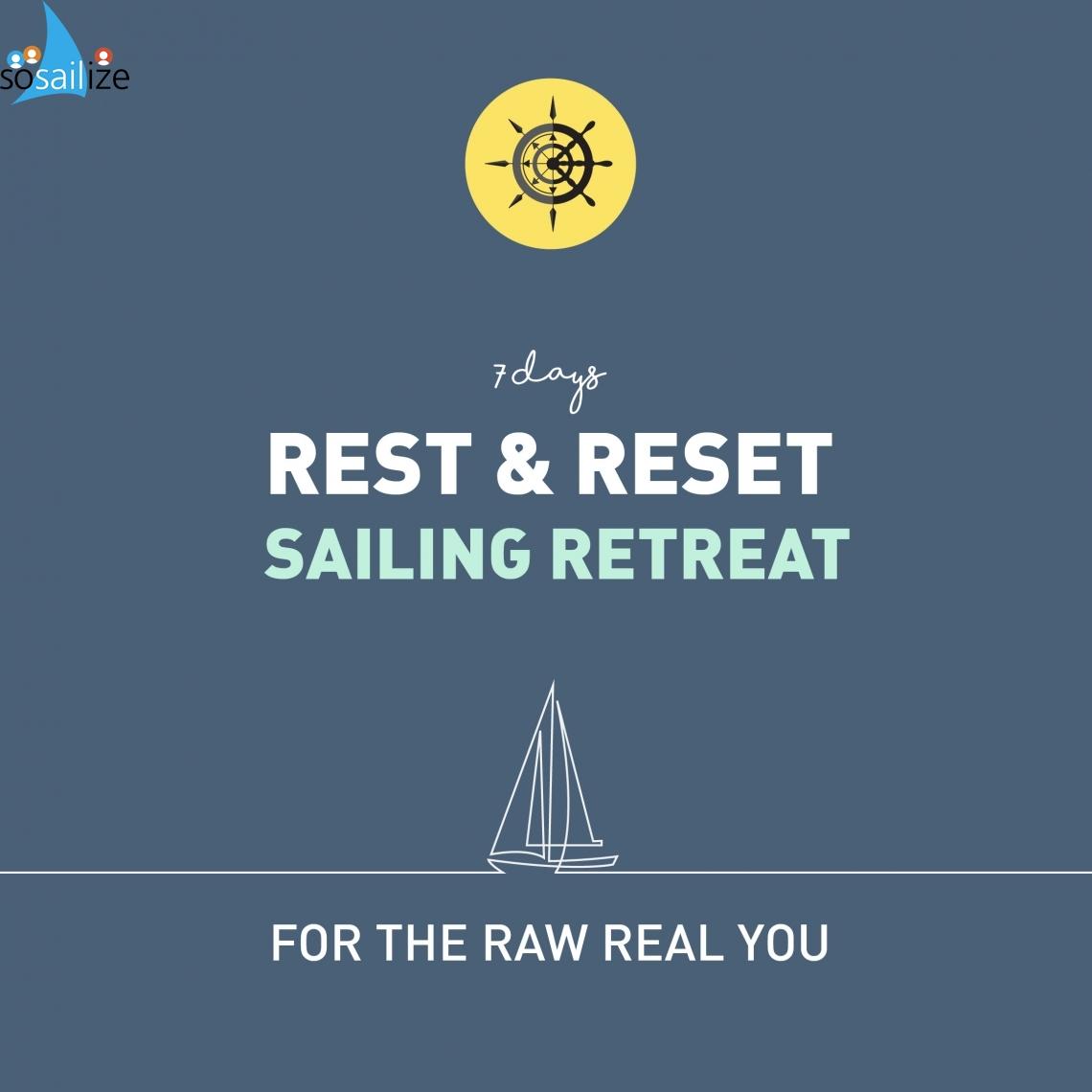 Sail with raw food