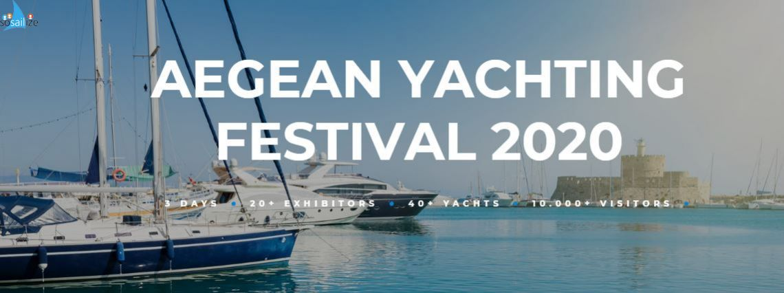 Aegean Yachting Festival 2020 Oct 23-25, Rhodes, Greece