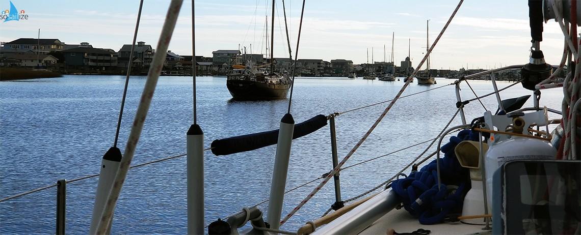 Sailing north up U.S. East Coast from South Carolina