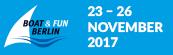 BOOT & FUN BERLIN 2017 Nov. 23 - 26 in Berlin