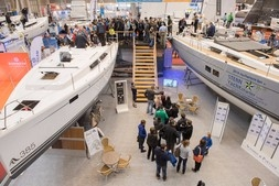 "Hall 10 – ""Sailing Yachts""<br />The berth for big sailing ships up to over 50 feet at the Austrian Boat Show is traditionally the ""Niederösterreich Halle"" (Lower Austria Hall)."
