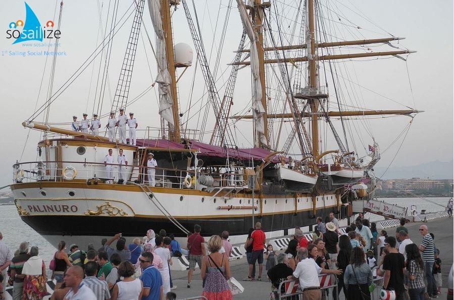 """The school ship Palinuro, of the Italian Navy, arrives today in the port of Augusta. It will remain moored until next Monday, with the possibility of visits on board at the weekend. In detail, Saturday, June 23 from 15.00 to 18.30 with admission from the Terravecchia di Marisicilia; Sunday 24 June from 10.00 to 12.00 and from 15.00 to 18.00, at the commercial port.In Augusta, the schooner Palinuro will participate in the events linked to the """"Marisicilia Cup"""" event, an event organized by the Marine Command Sicily of the Italian Navy which will take place from 22nd to 24th June.Arriva oggi in porto ad Augusta la nave scuola Palinuro, della Marina Militare. Rimarrà ormeggiata fino al prossimo lunedì, con possibilità di visite a bordo nel fine settimana. Ad Augusta, la goletta Palinuro parteciperà agli eventi legati alla manifestazione """"Marisicilia Cup"""", evento organizzato dal Comando Marittimo Sicilia della Marina Militare che si svolgerà dal 22 e il 24 giugno prossimo."""