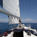 Solo Sailing with an Elan 45 foot