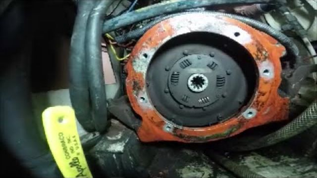 Changing damper plate on sailboat
