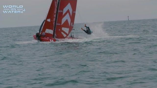 """World on Water TV"" February 09 18 Global sailing News. Vestas Pics, SuperFoiler Crashes, more"