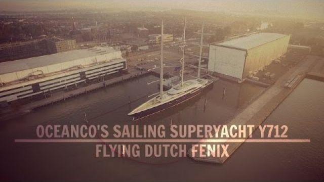 OCEANCO'S SAILING SUPERYACHT Y712 by Drone