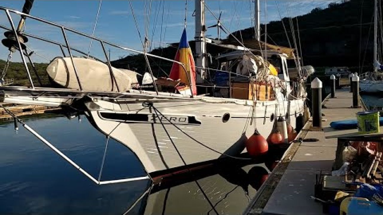 19-05_Dirty Boatyard Days - The Bottom Job is Done let's get WET!(sailing ZERO)