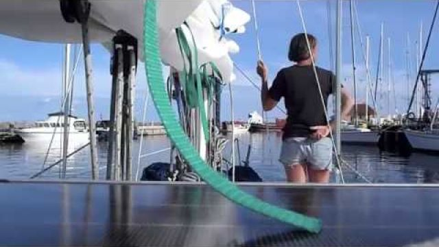 s/v Blaatunge sailing from Haderslev-Ærøskøbing. Video 84