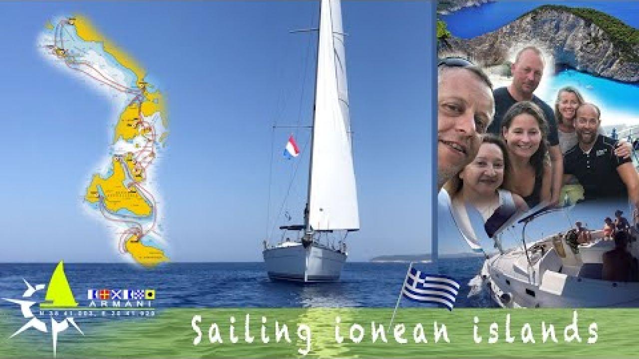 Sailing Greece - ionian islands | Paxos, Lefkada, Meganisi, Kalamos, Ithaki, Kefalonia, Zakynthos
