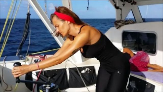 Sailing into freedom Episode 76 Sailing to paradise and emergency drill #2