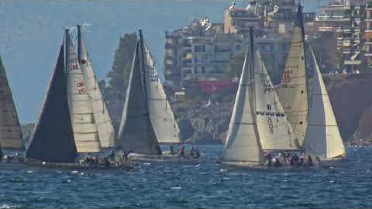 Hydra Race: Start of race leg one from Faliro to Hydra - 23.10.2020