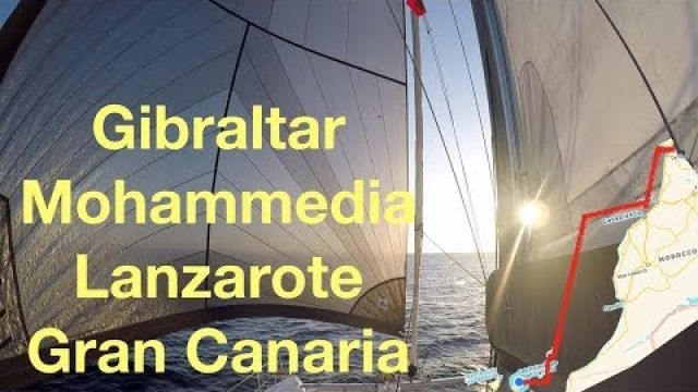 Catamaran Sailing from the Med into the Atlantic