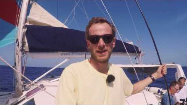 This is our sailing boat. - Sailing across the atlantic Ep.3