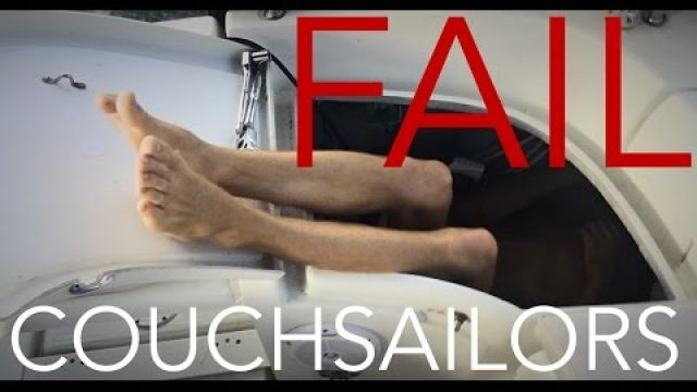 Boat Yoga FAIL || COUCHSAILORS Sailing Journal