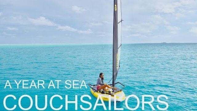 One Year at Sea: Sailing San Francisco to New Zealand || COUCHSAILORS Sailing Journal