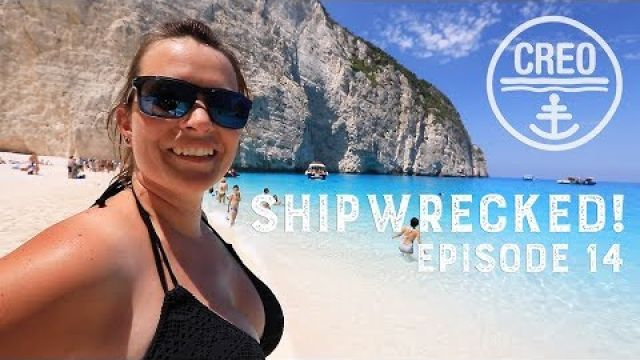 We sail into Ship Wreck Beach Zakinthos! Ep - 14