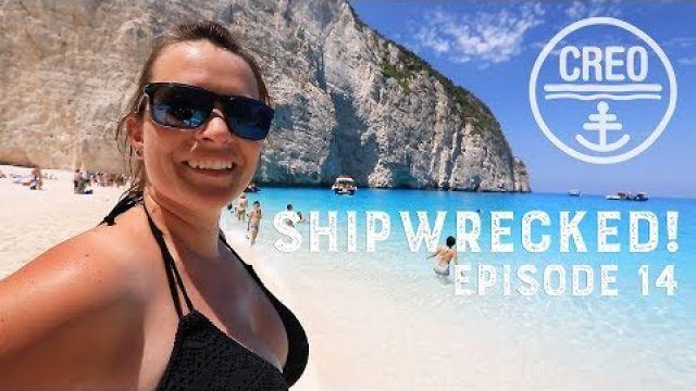 We sail into Ship Wreck Beach Zakinthos! Ep - 14