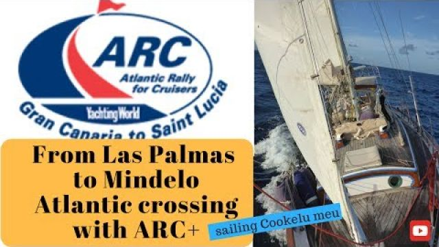 Sailing our Tayana 37 from Las Palmas to Mindelo with ARC+