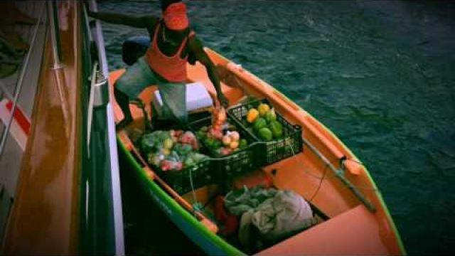 Sailing To Saint Lucia Caribbean
