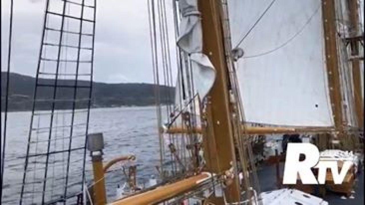 ReggioTV - La nave Palinuro in tutto il suo splendore