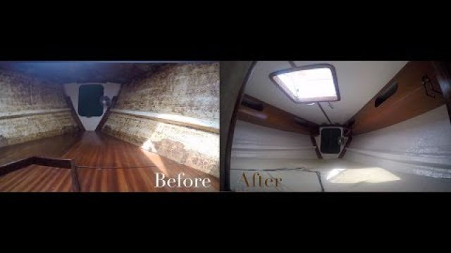 Sailboat Paint Job Through Thunderstorms and Extreme Heat (Ep. 18 ~ Bums on a Boat)