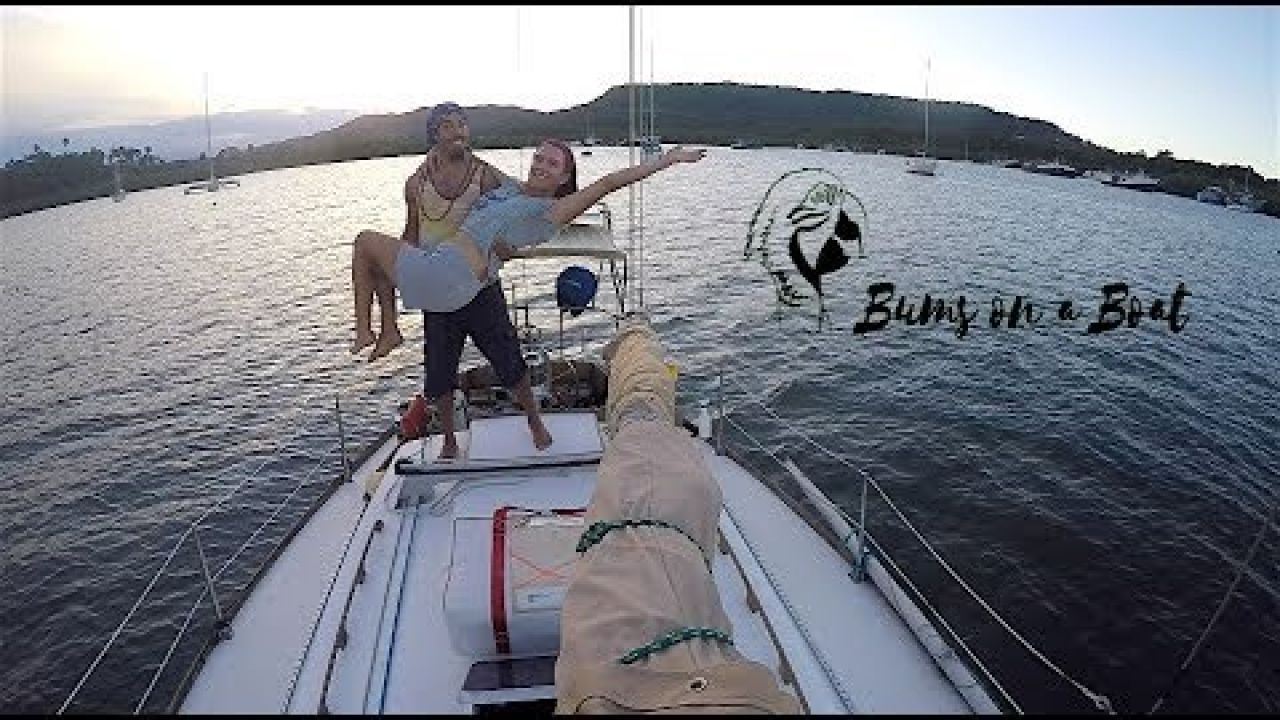 Leaving Sailboat Anchored in a Foreign Country (Ep. 53 ~ Bums on a Boat)