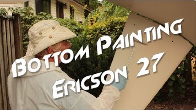 How We Bottom Painted the Ericson Hull | Using ePaint EP ZO