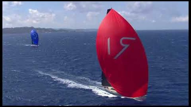 This is the Maxi Yacht Rolex Race 2017