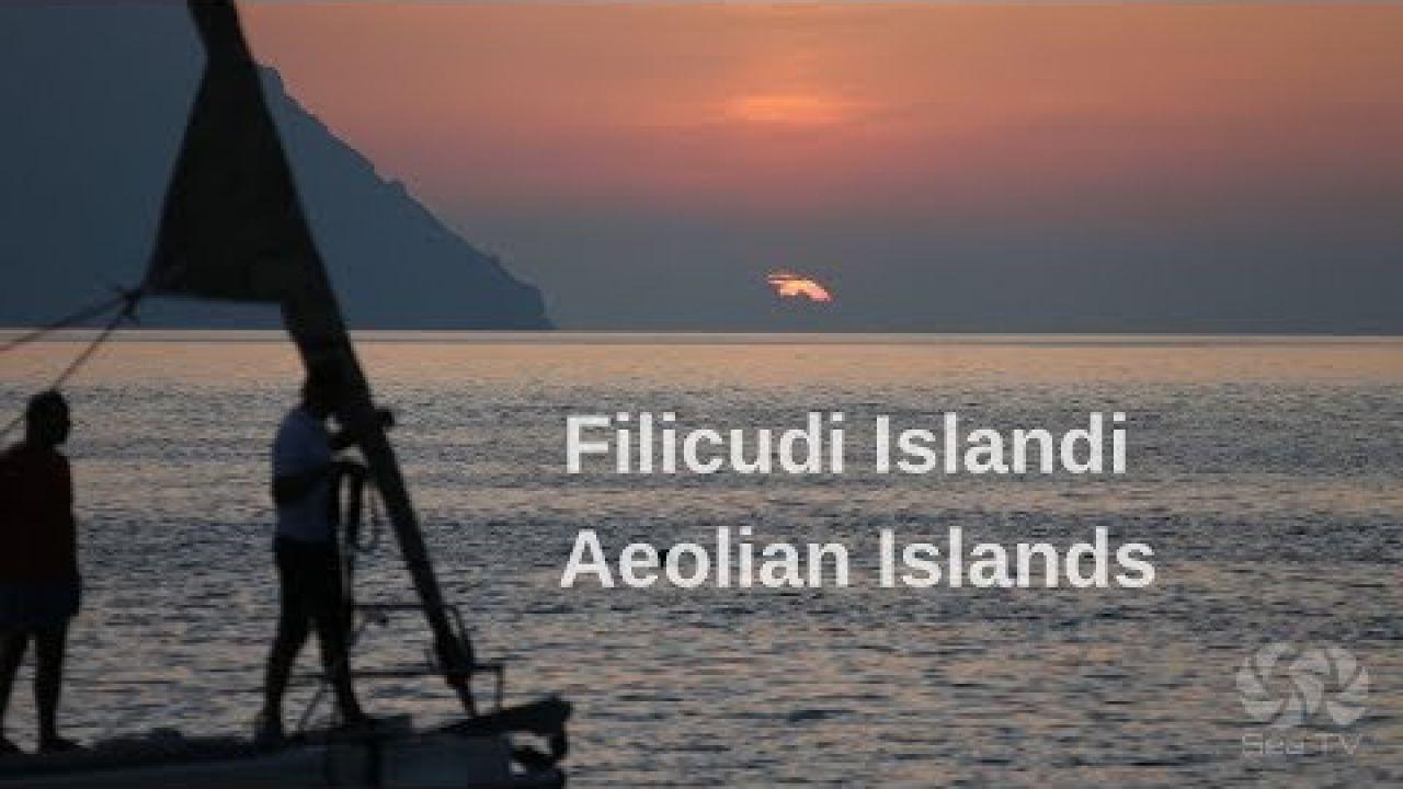 Sail to Filicudi Island, Aeolian islands, Sicily | SeaTV
