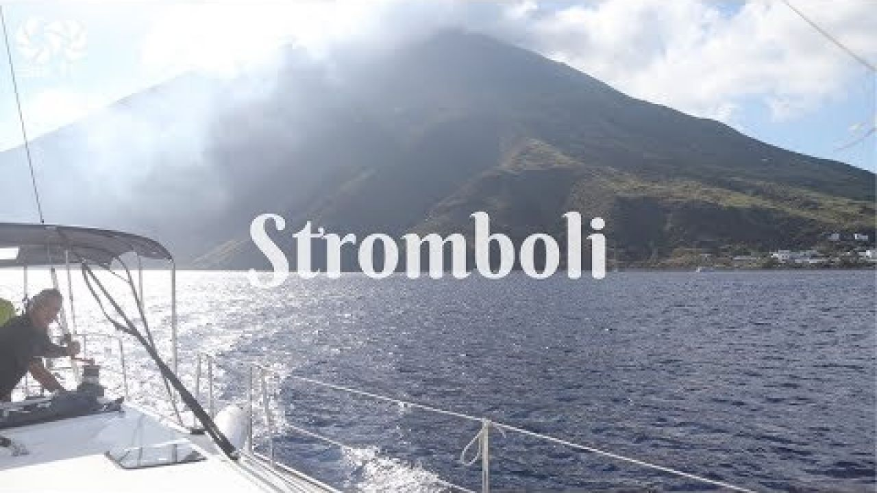 STROMBOLI Aeolian Islands Sicily SeaTV sailing channel