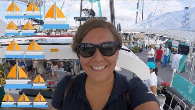 Admiring the Yachts at the Largest In-water Sailboat Show | Sincerely Sailing E. 19