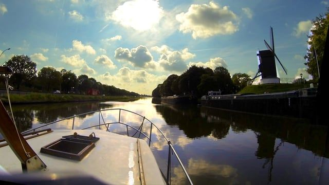 A few weeks of cruising the European canals.