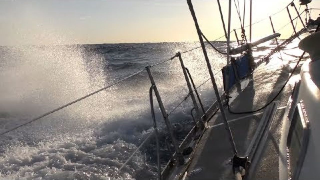 Epic Overnight Sail To A Stunning Reef (Sailing SV Sarean) Ep. 41