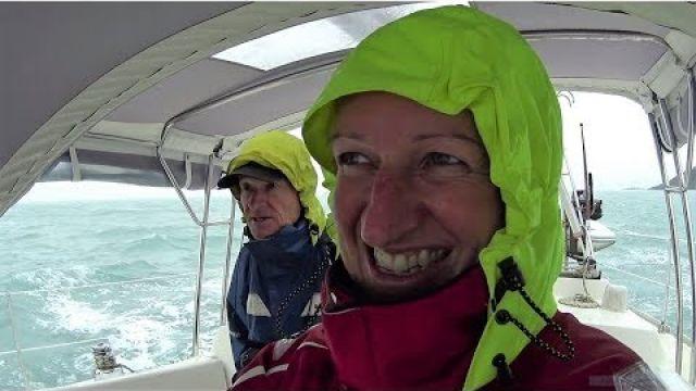 Running From Tropical Cyclone Iris & A Broken Loo! (Sailing SV Sarean) EP. 28