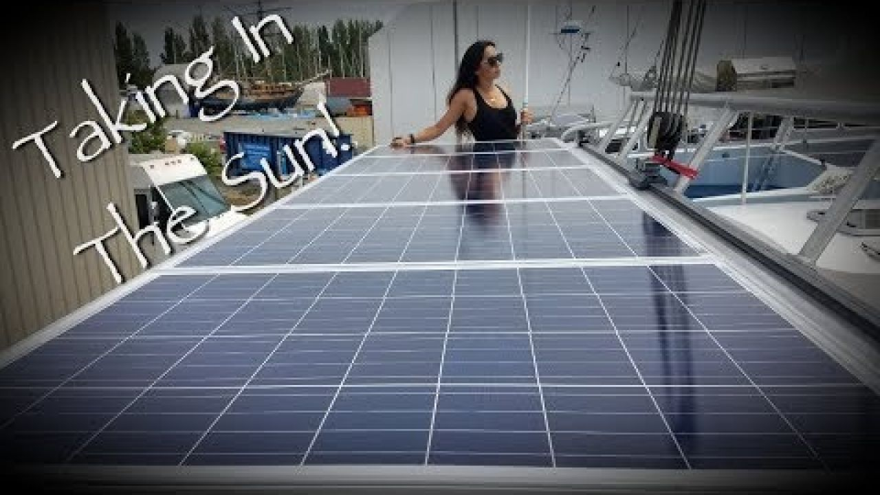 Onboard Lifestyle ep.71 Solar Upgrade On Our Catamaran